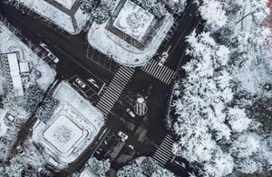冷空气发威,武汉终于迎来冬天第一场大雪!