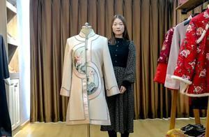 95后女生做寿衣模特3年,从未收到攻击性评论,殡葬行业也暖心