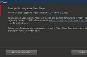 大势所趋!Windows10将永久删除FlashPlayer