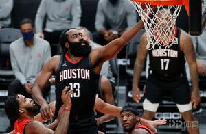闹归闹 上场就爆!哈登狂砍44+17缔造多项NBA历史纪录