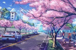 45张超美动漫风景场景壁纸图片