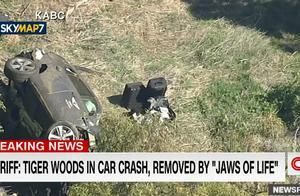 老虎伍兹遭遇严重车祸!驾驶的捷尼赛思GV80是什么车?