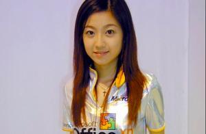 王浩信老婆旧照,当年微软第一代宅男女神,比奶茶妹妹还清丽脱俗