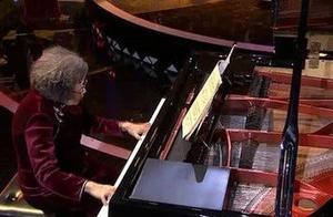 87岁帕金森老奶奶弹奏绝美《梁祝》钢琴曲!