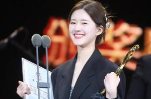 赵露思获文荣奖最佳女主角,想学郑爽黑红的她,底气明显不足