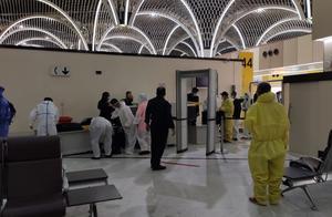 IA473巴格达直飞广州,落地后收到该航班的熔断新闻