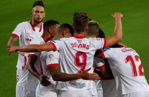 0-1!西甲爆大冷!欧联杯之王连续4场不胜,皇马巴萨都笑了