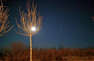 今晚的月色好美