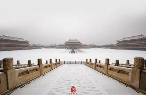 空无一人的360°故宫雪景啥感觉?又一波高清美图来了!颜值爆表!