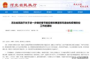 必要时劝导取消婚礼、推迟婚礼!河北省民政厅发布最新通知