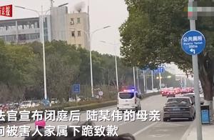 浙江20岁幼师被男友捅伤致死案二审未当庭宣判 被告人母亲下跪道歉