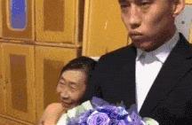 搞笑gif:婚礼现场搞笑瞬间盘点,有些一辈子难忘