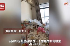 男子退租后留满屋垃圾,花了钱就能随意损毁别人东西?