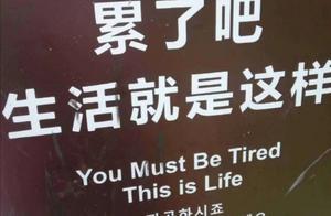 """当今社会中,人们见面总要问:""""你累吗?"""""""