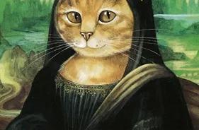 看这只名画中的猫,演绎近1000年的世界经典艺术