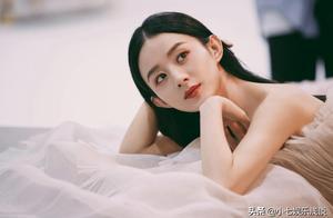 赵丽颖最新时尚大片,仙气飘飘宛如花间仙子,网友:找对风格了!