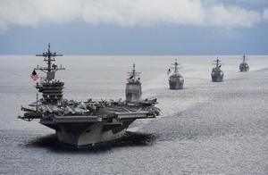 """""""罗斯福""""号航母进南海带来一个新的危险信号,南海形势比台海更加危险,中国该怎么办?"""
