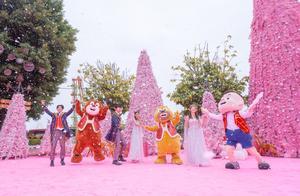 迎接2021年,南宁方特飘雪狂欢节盛大开幕