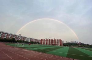 武汉现双彩虹!好美