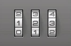 2020年最常用的200个密码公布 123456坐稳第一名