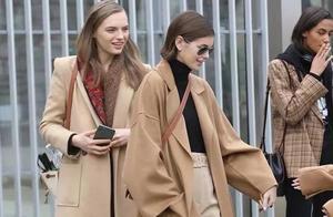 """今年流行的羊绒大衣,选对这个""""长度""""才好看,小个子穿也显高挑"""