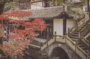 成都市内的赏秋胜地,2号线直达的苏州园林,隐藏式古风秋色