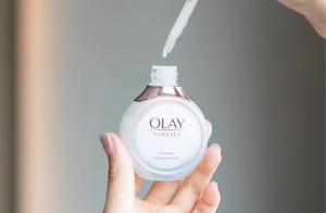OLAY新品流光瓶放大招,烟酰胺新功效,堪比千元贵妇POLA?