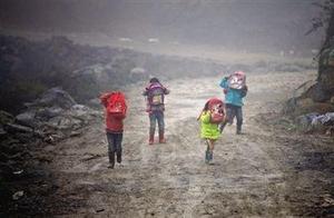 安徽阜阳零下8度,幼儿园只来1个学生,老师组团围一圈表情亮了