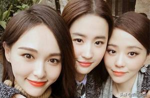 刘亦菲为唐嫣庆生,两美女同框太养眼