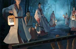 魔道祖师:官微公布的超美景色图,你能猜出第一视角是谁的吗?
