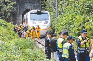 台湾火车出轨致严重伤亡,蔡英文再表态:真相厘清前勿过度指控