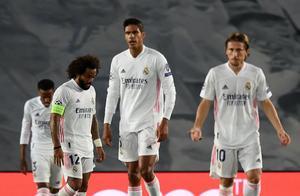 对手10人缺阵,皇马仍遭遇半场噩梦!0-3创三项欧冠耻辱