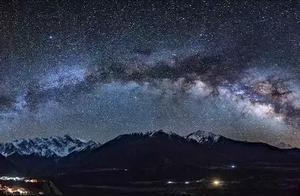 仰望林芝星空,在浩瀚银河下细数星辰!