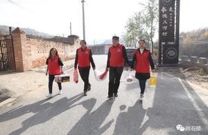石楼县爱心志愿者协会组织开展走访慰问抗美援朝老战士活动