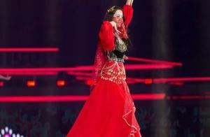 女星跨年爱红衣,迪丽热巴民族风,赵露思古典美,吴宣仪很飒