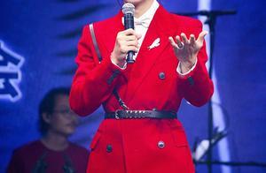 红色西装造型的张哲瀚、白敬亭、范丞丞、成毅、黄子韬养眼又吸睛