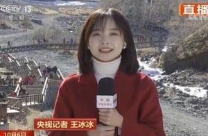 央视记者王冰冰登上热搜,长相甜美还是学霸,好看的都上交国家了