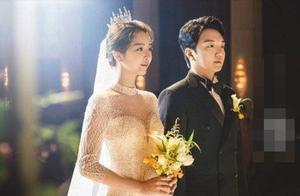 《小苹果》女主裴涩琪闪婚男主播,钻石婚纱显曼妙身材,唯美动人