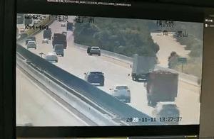 男子高速上拿千斤顶当警示牌致严重车祸,警方通报来了