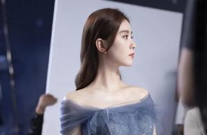 刘诗诗蓝色星光裙,太好看了吧,这美貌是人间存在的吗