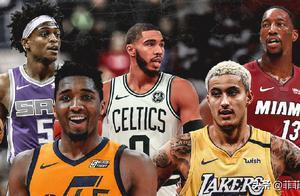 NBA翘楚!17届3新秀获5.8亿续约 不愧为联盟未来