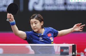 女乒世界杯陈梦夺冠后险落泪,坦言开局不容易,对自己是重大突破