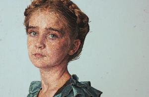 用笔画画算啥?这位艺术家的刺绣肖像超级写实,一定能惊艳你