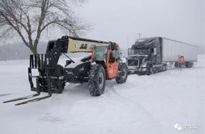 周末不好过:美东迎狂风暴雪,全美9千万人受冬季风暴影响