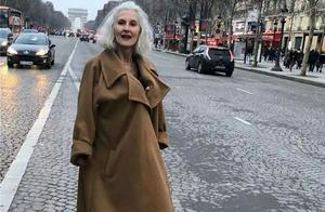 时尚和年龄无关,看看这位60+的奶奶,气质优雅有品味
