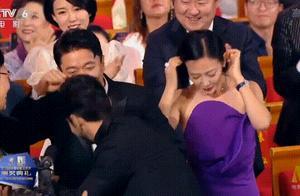 黄晓明获奖时段奕宏的反应,到底怎么回事?