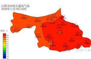 29.1℃!江阴破纪录
