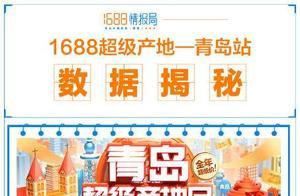 大数据揭秘1688青岛超级产地日:新买家环比暴增1500%