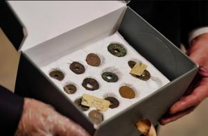 昨日,古埃及交还31枚中国古钱币,一份促进中埃关系的礼物