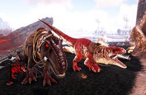 妖月 方舟生存进化 盖亚恐惧13 前往恶魔岛!抓捕巨兽龙 驯服死神